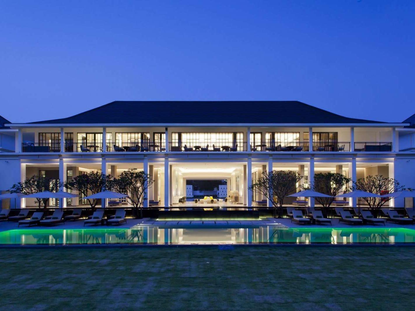 Hotel Façade of U Sathorn Bangkok  at U Hotels and Resorts