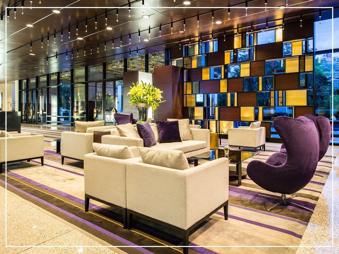 Lobby area of Emporium Suites by Chatrium