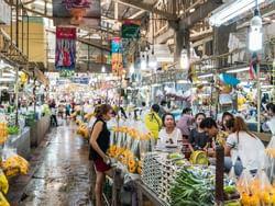 Pak Klong Talad (Flower Market)  near Chatrium Hotel Riverside Bangkok