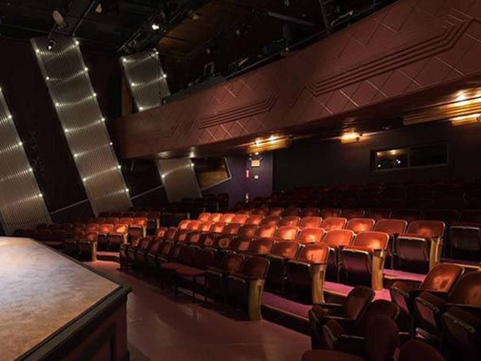 Seats in an auditorium