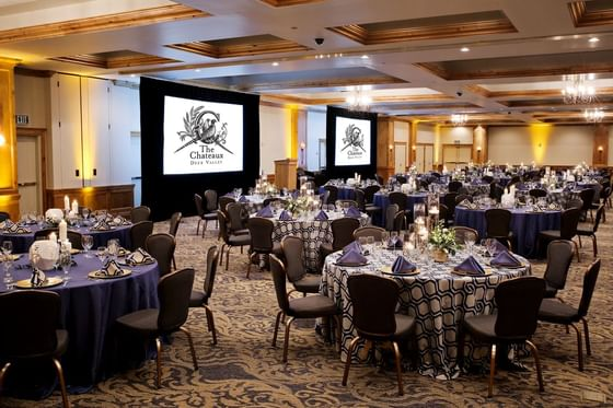 The Chateaux Impressionist Ballroom Meeting and Event Space