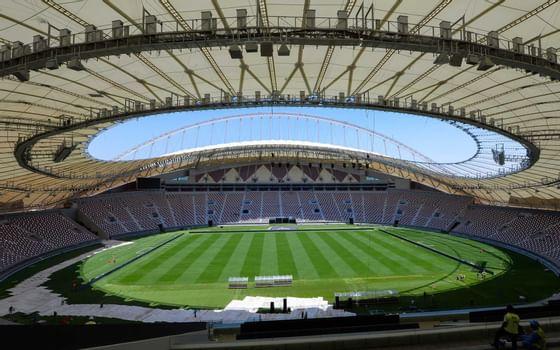 stadium near Al Aziziyah Boutique Hotel Doha