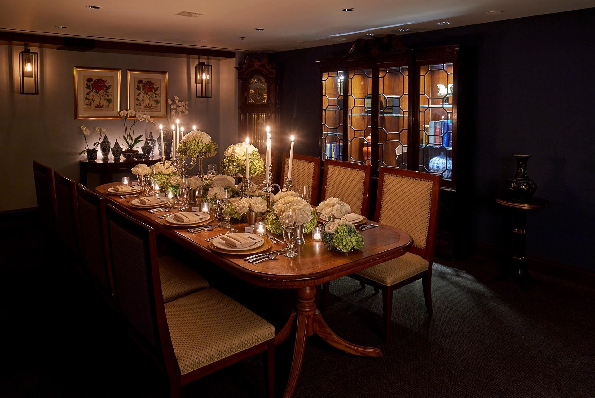 Private Dining Room at Warwick Denver