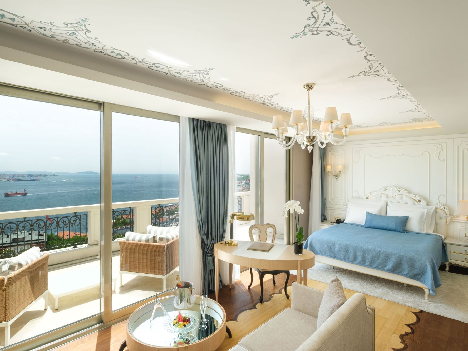 Terrace Suite with one bed at CVK Park Bosphorus Hotel Istanbul