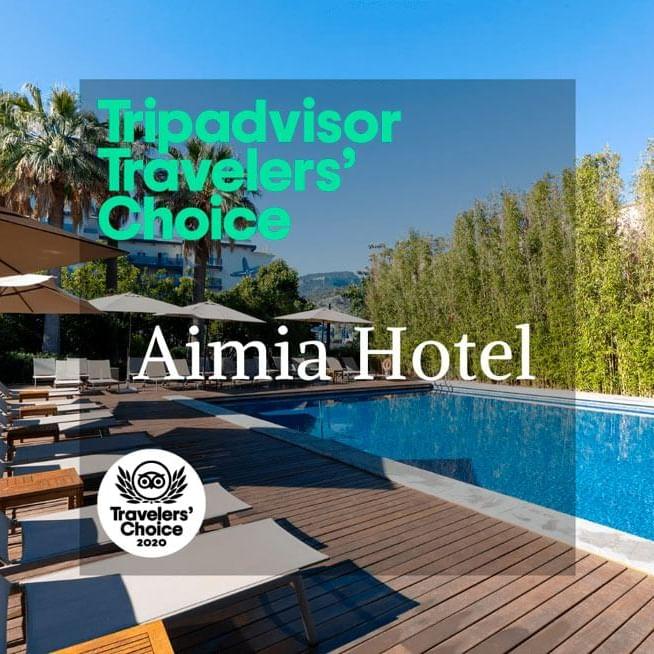 Premio Tripadvisor Aimia hotel 2020