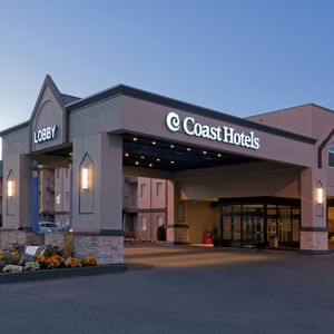 Exterior of Coast Kamloops Hotel & Conference Centre