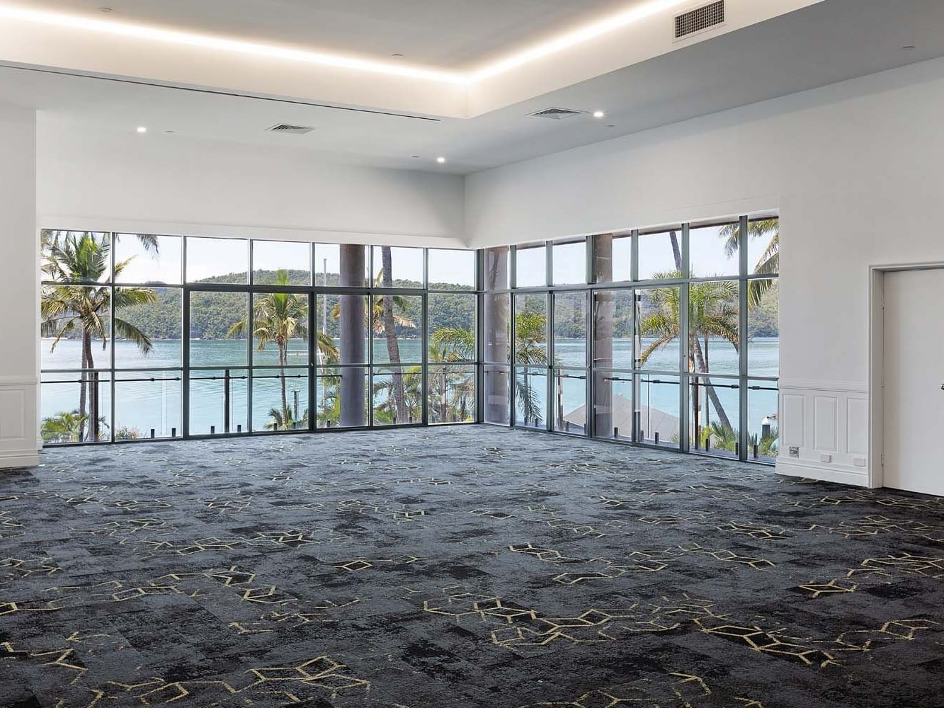Event space at Horizon room at Daydream Island Resort