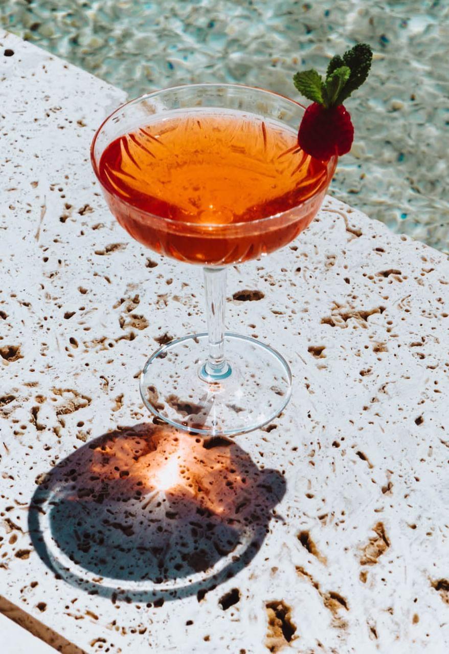 Cocktail at Almanac Barcelona