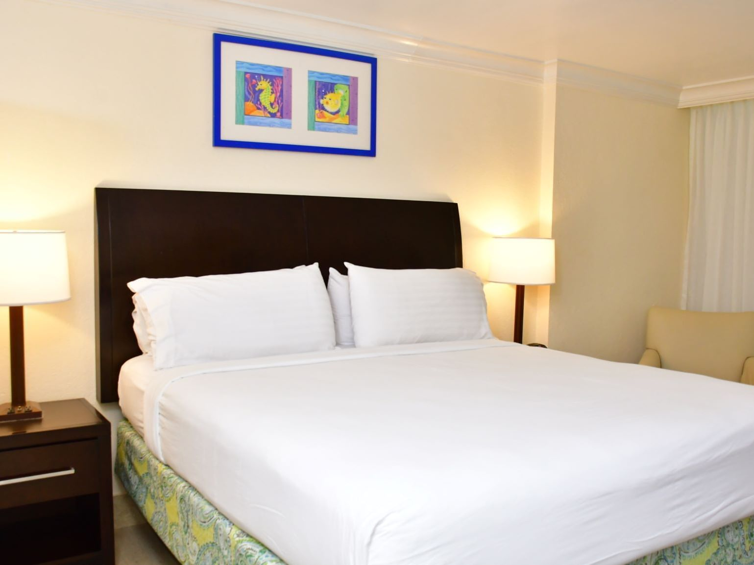 Bed in Kids room at Holiday Inn Montego Bay
