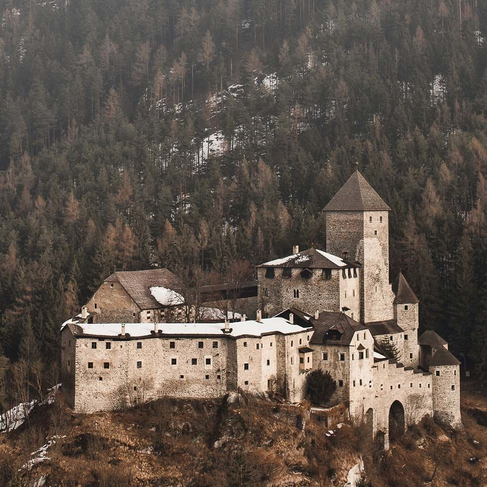Taufers Castle near Falkensteiner Hotels and Residences