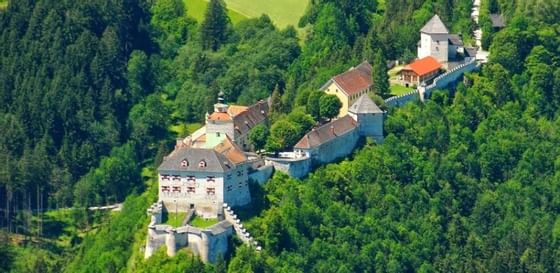 Attractions around Schloss Pichlarn