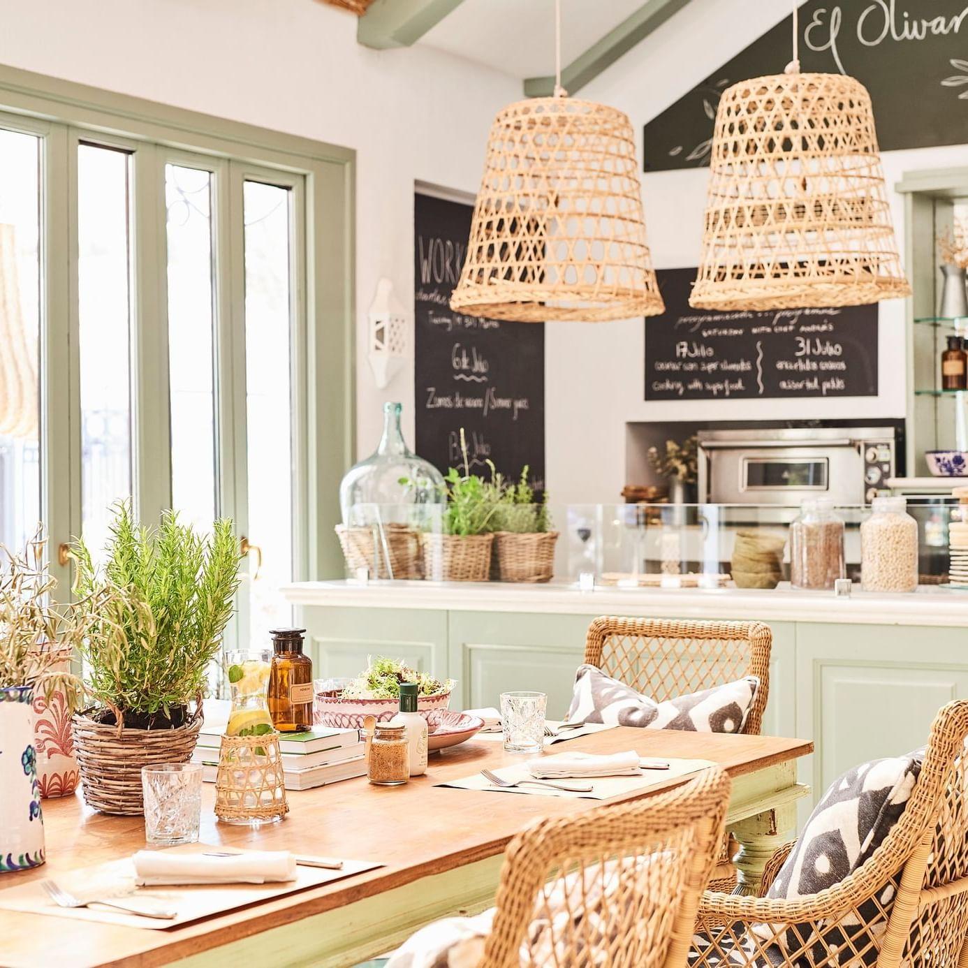 Actividades de nutrición saludable en El Olivar de Marbella Club