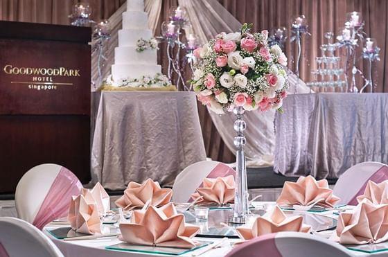 Wedding Celebration Interior - Goodwood Park Hotel