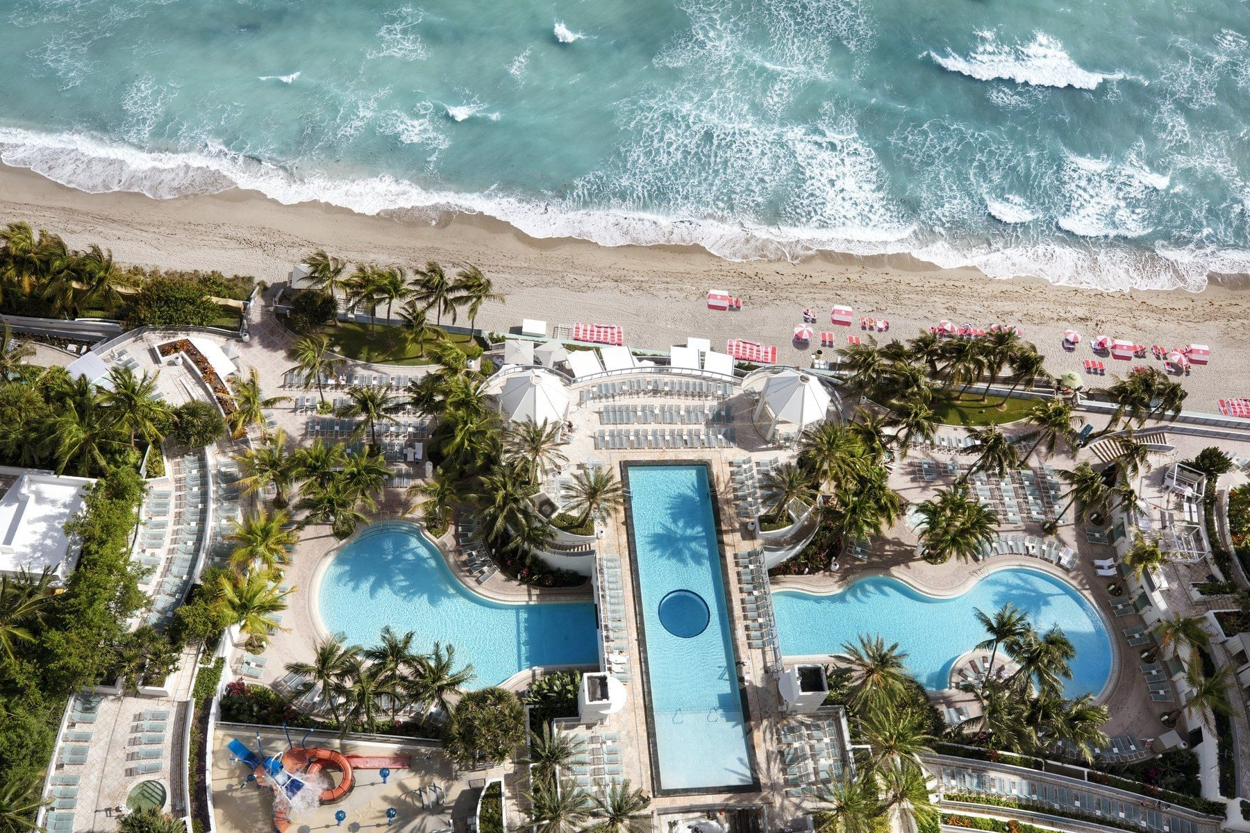 Balcony View of Pool and Beach of The Diplomat Resort