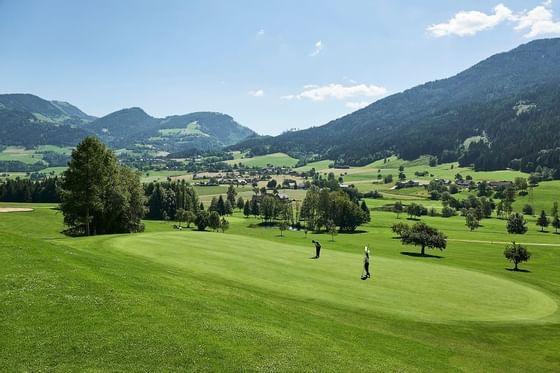 Golf near Schloss Pichlarn Hotel in Austria