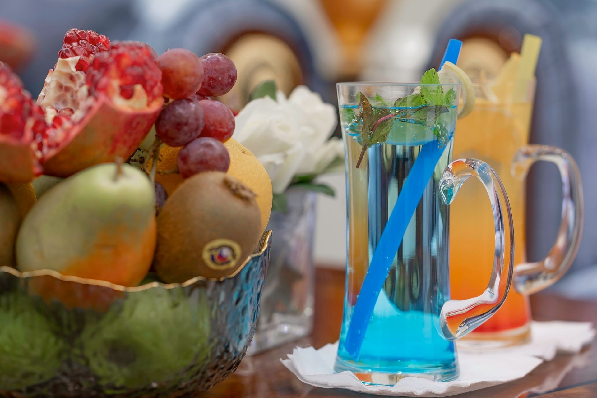 Fruits with Drinks at Makeen Homes by Warwick