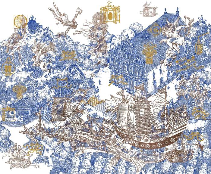 An art by Carlos Marreiros at Artyzen Grand Lapa