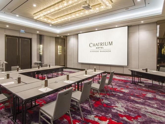 The River meeting room at Chatrium Hotel Riverside Bangkok