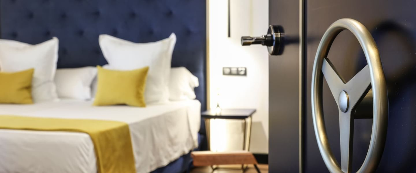 Entrance of a room at Design Plus Group Hotels