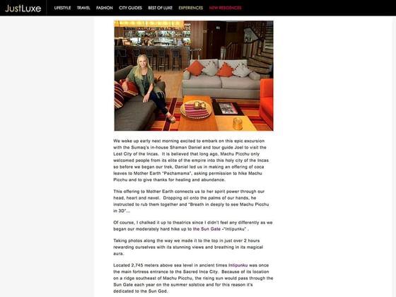 articulo sobre el hotel
