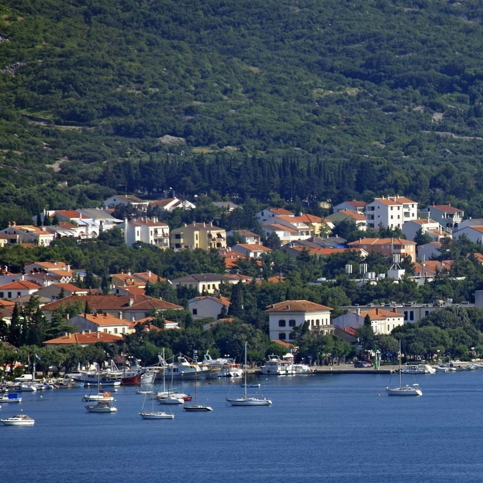 Panoramic View of Malinska near Falkensteiner Hotels and Residences