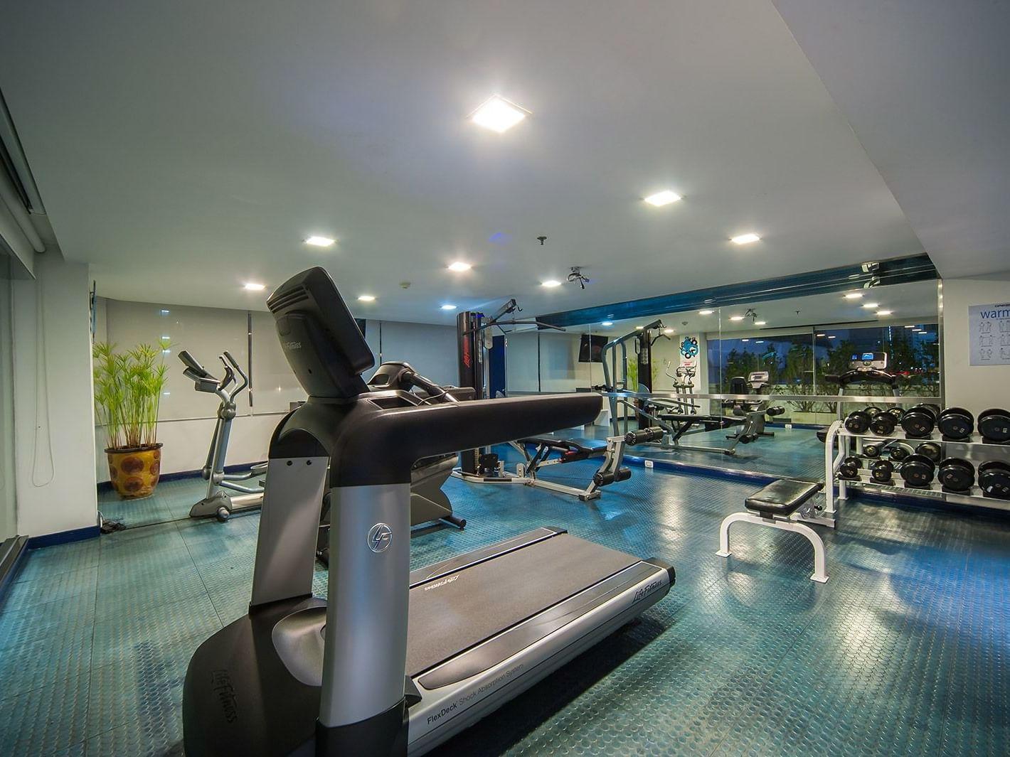 Gym and workout view at Dream Bangkok