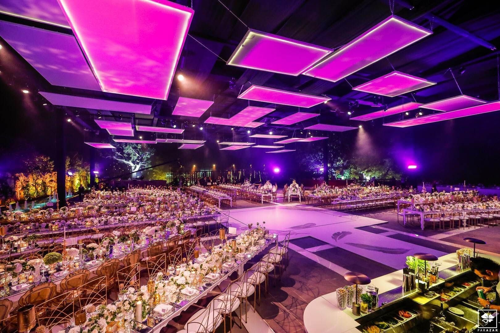 Wedding set-up at Mist Hotel