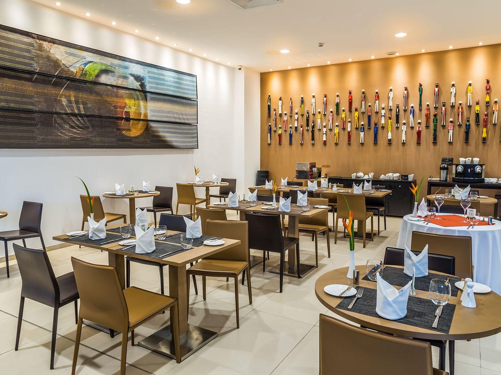 Restaurant of the Abidjan hotel