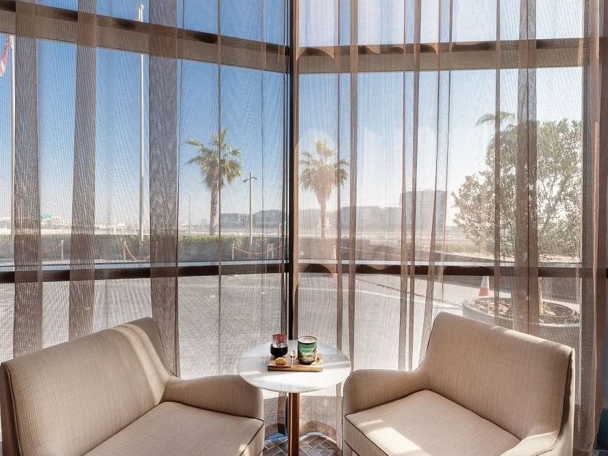 Lobby Lounge at Paramount Hotel Dubai