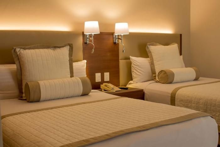 Comfortable suits rooms in Hotels Grupo Guadalajara