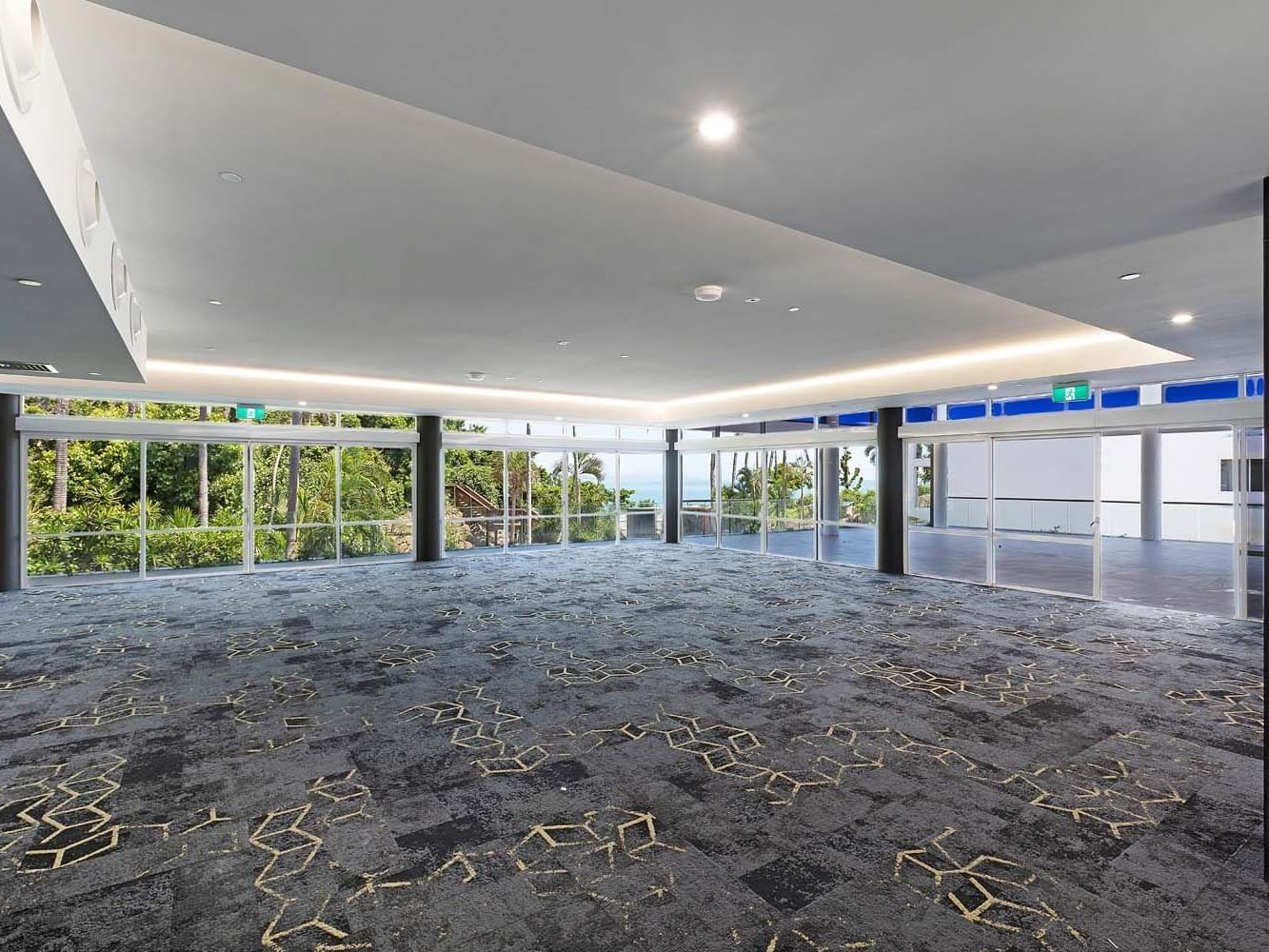 Event space at Eclipse room & terrace at Daydream Island Resort
