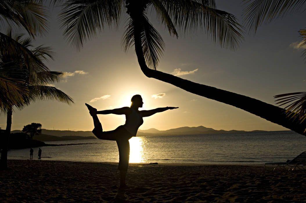 Yoga on Mermaid Beach