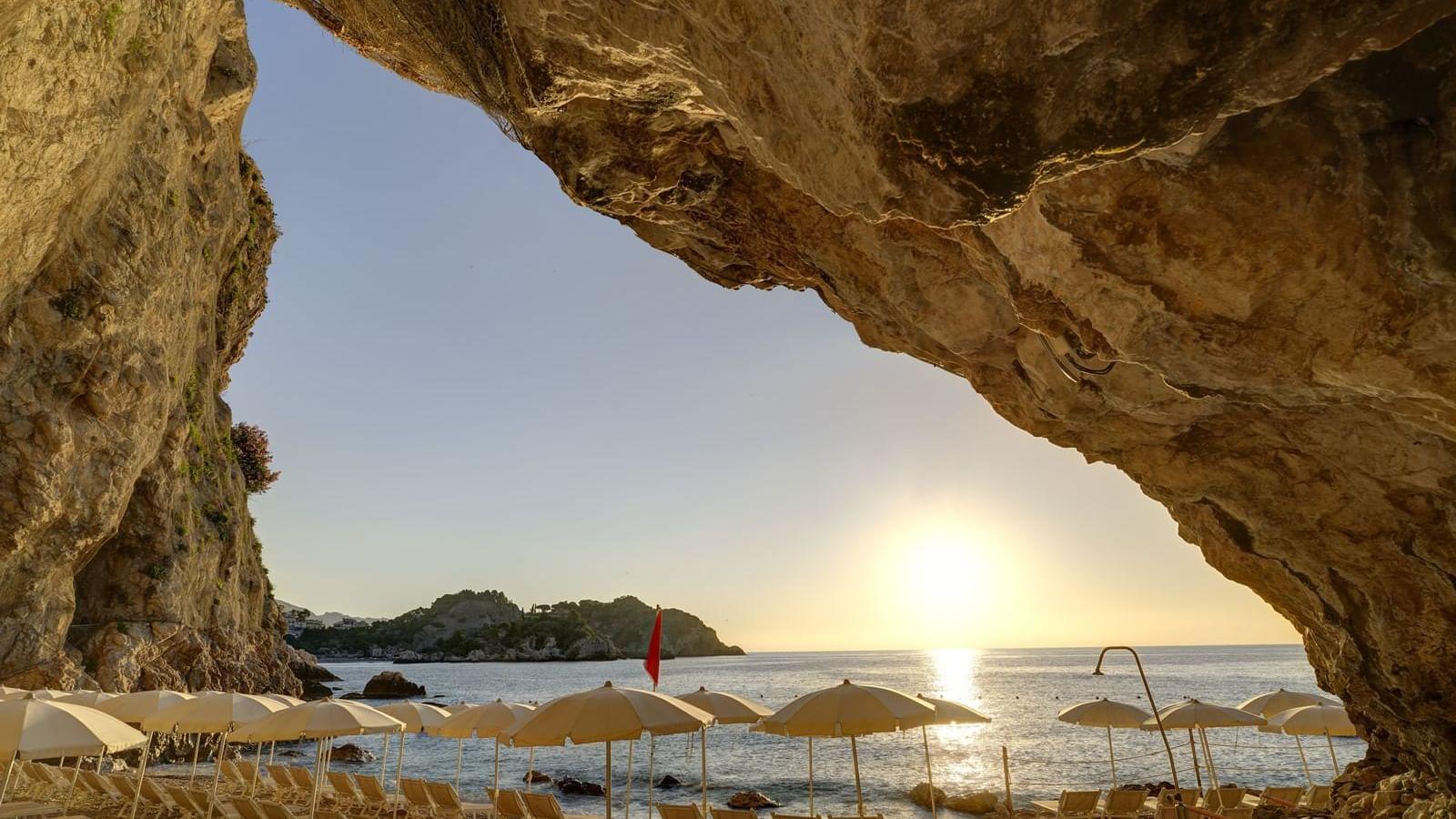 Breathtaking views of the Sicilia coast
