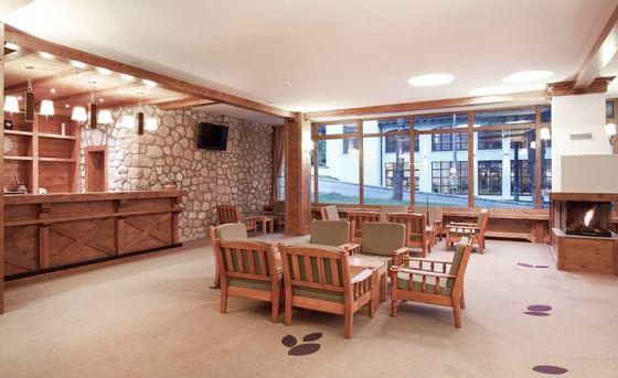 Lobby la Ana Hotels Sport Poiana Brașov în România