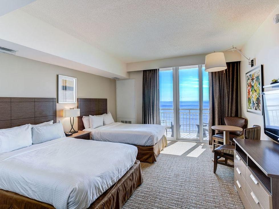 Oceanfront studio at Diamond Resorts Virginia Beach