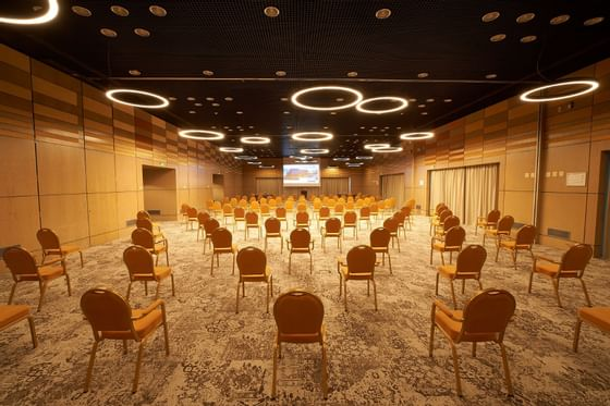 Interior of Europa Ballroom 3 Modules at Ana Hotels Europa
