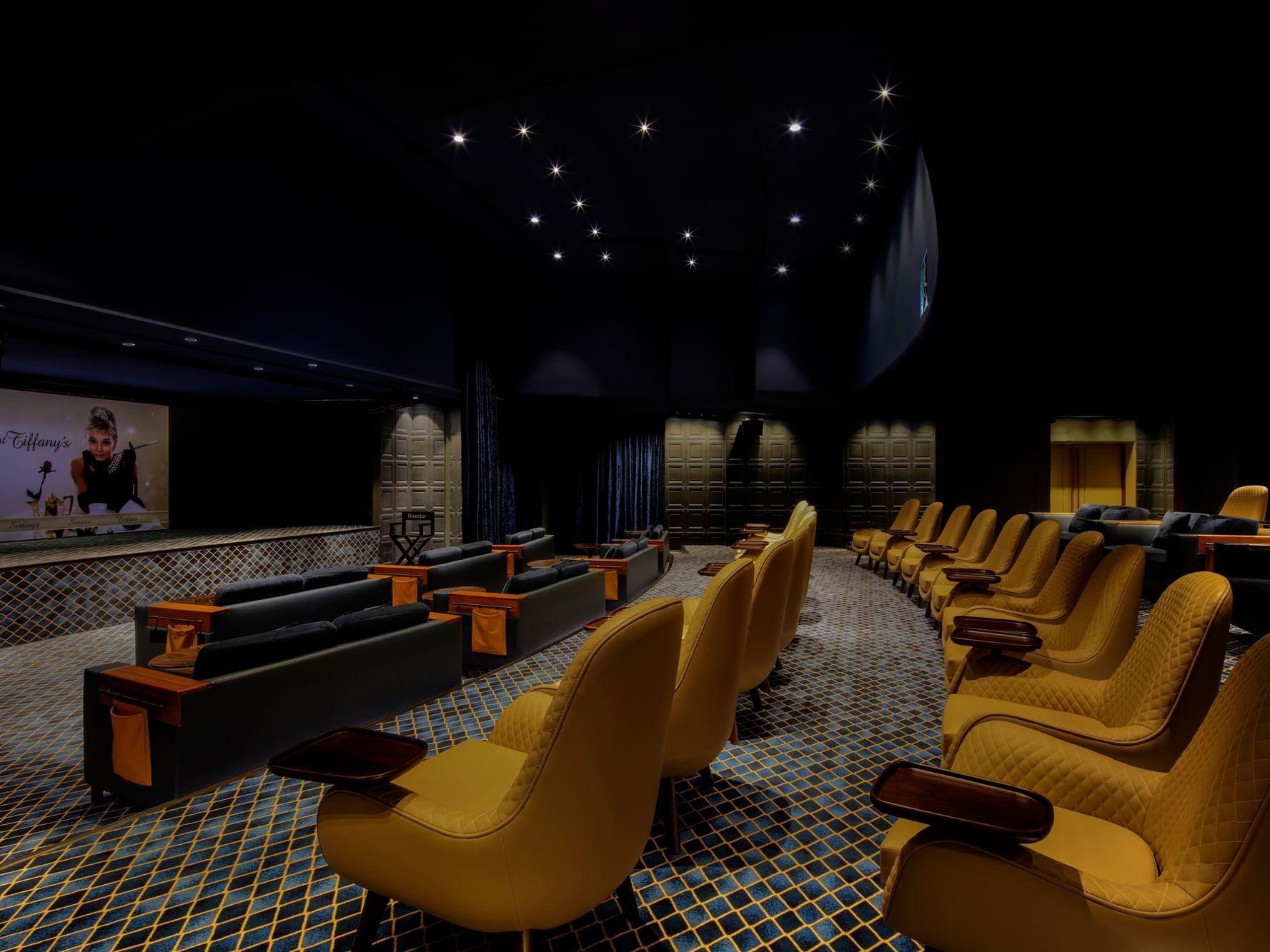 派拉蒙放映室