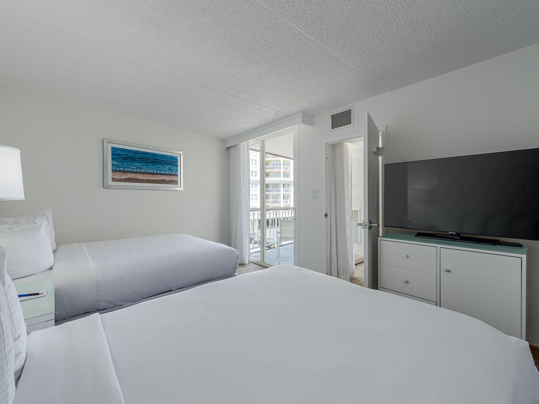 Signature Suite at ICONA Diamond Beach Resort Hotel near Wildwood NJ