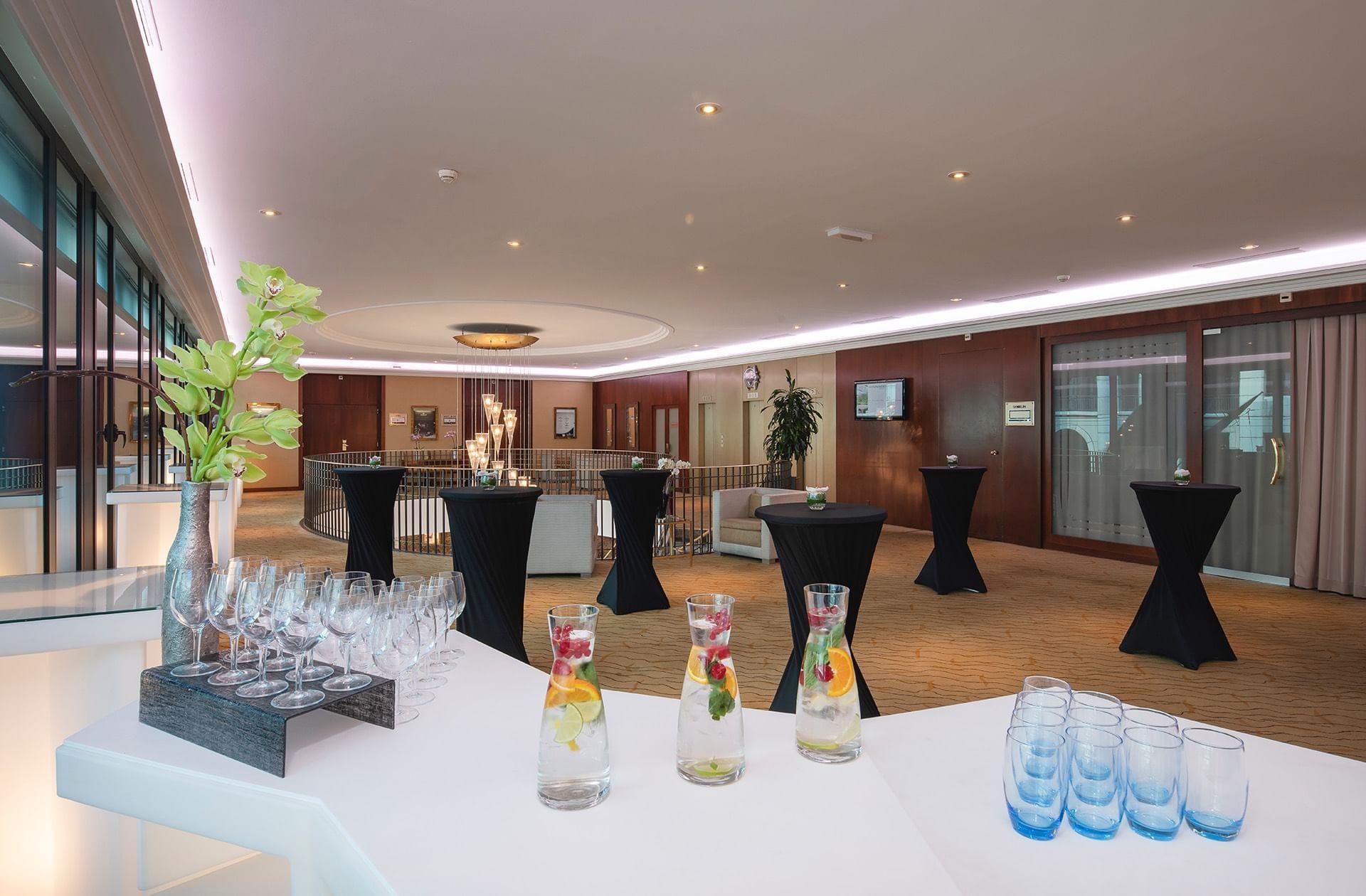 Salle de réunion Mezzanine au Warwick Geneva