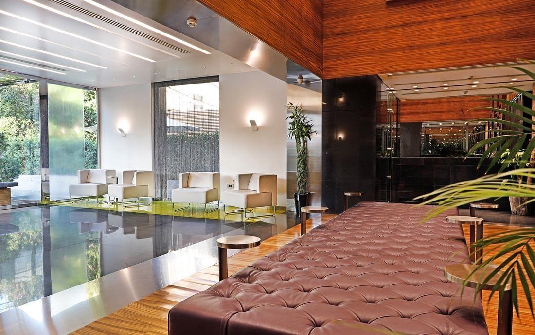 Lobby Reception at Warwick Stone 55