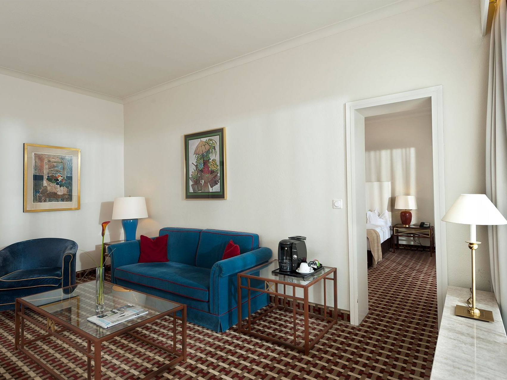 Lounge area in Superior Room at Precise Bad Reichenhall Bavaria