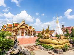 วัดพระธาตุเชิงชุมวรวิหาร - Hop Inn Sakon Nakhon (Budget hotel) - โรงแรมราคาประหยัด โรงแรมฮ็อป อินน์ สกลนคร
