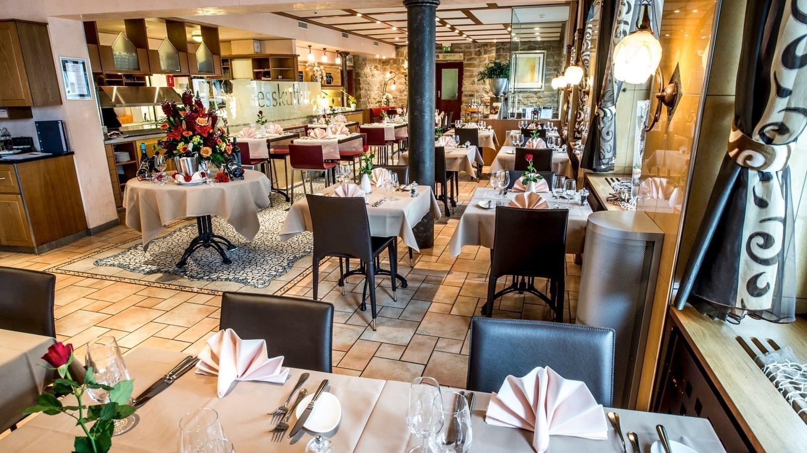 Restaurant im Hotel Krone Unterstrass in Zürich