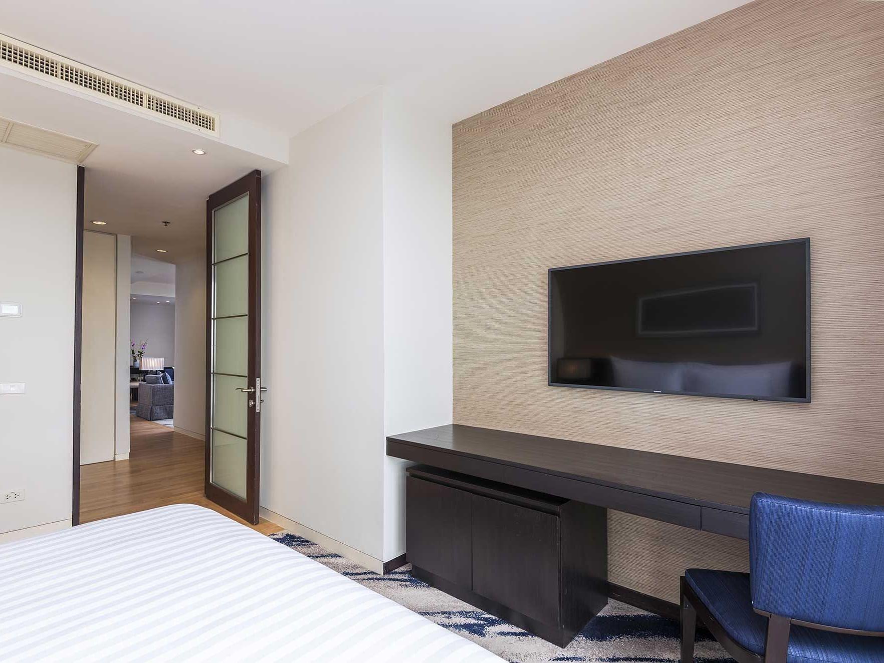 Two bedroom grand deluxe suite at Emporium suites by Chatrium