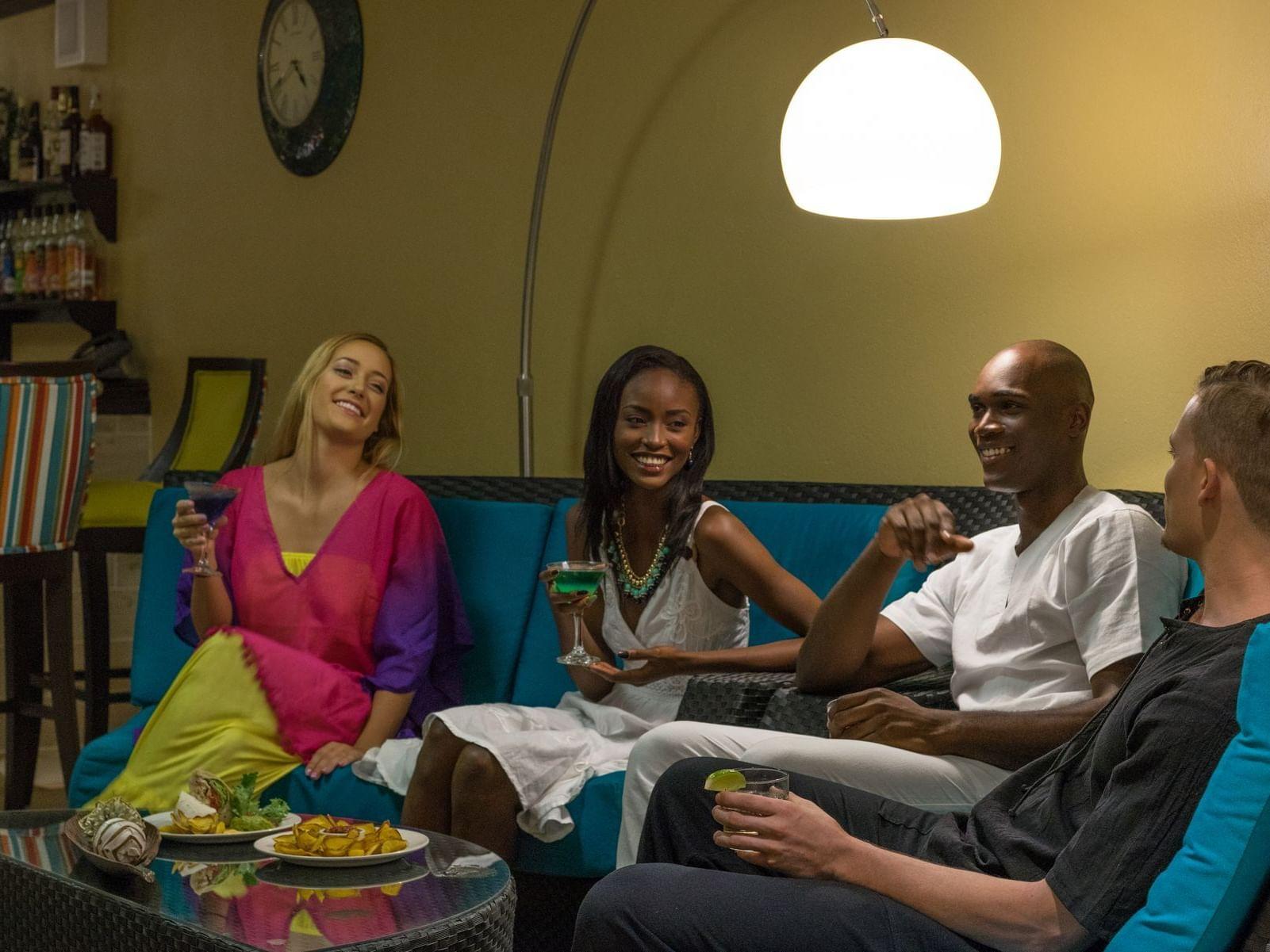 People enjoying in Rosehall Lounge at Holiday Inn Montego Bay