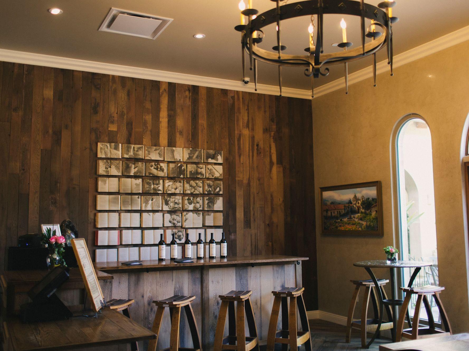 Willow Creek wine tasting room