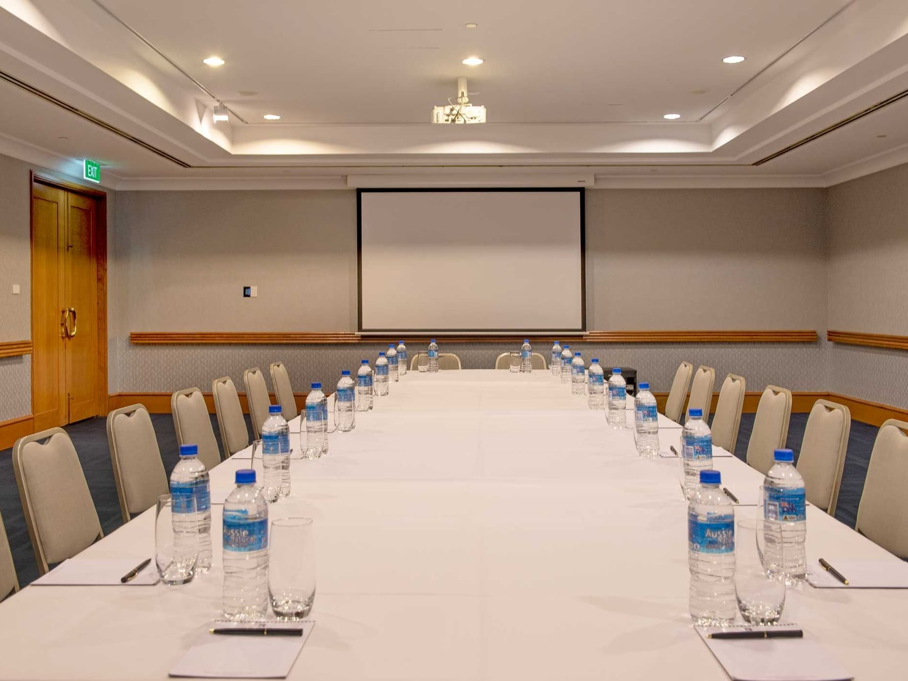 Meeting Room with arranged tables in Duxton Hotel Perth