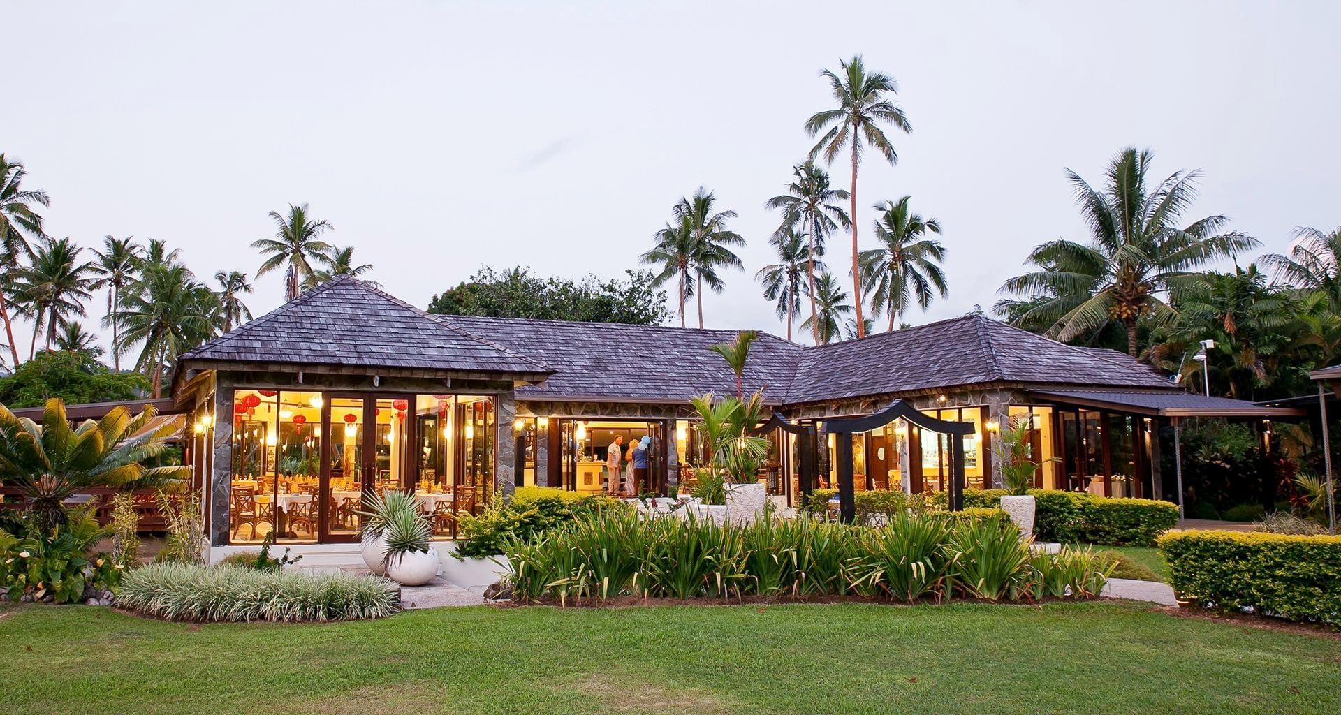 Navity Resort Bamboo Restaurant Outside