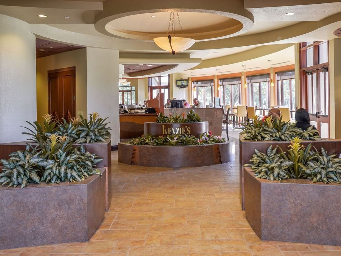 Entrance of Kenzie's at Mystic Dunes Resort