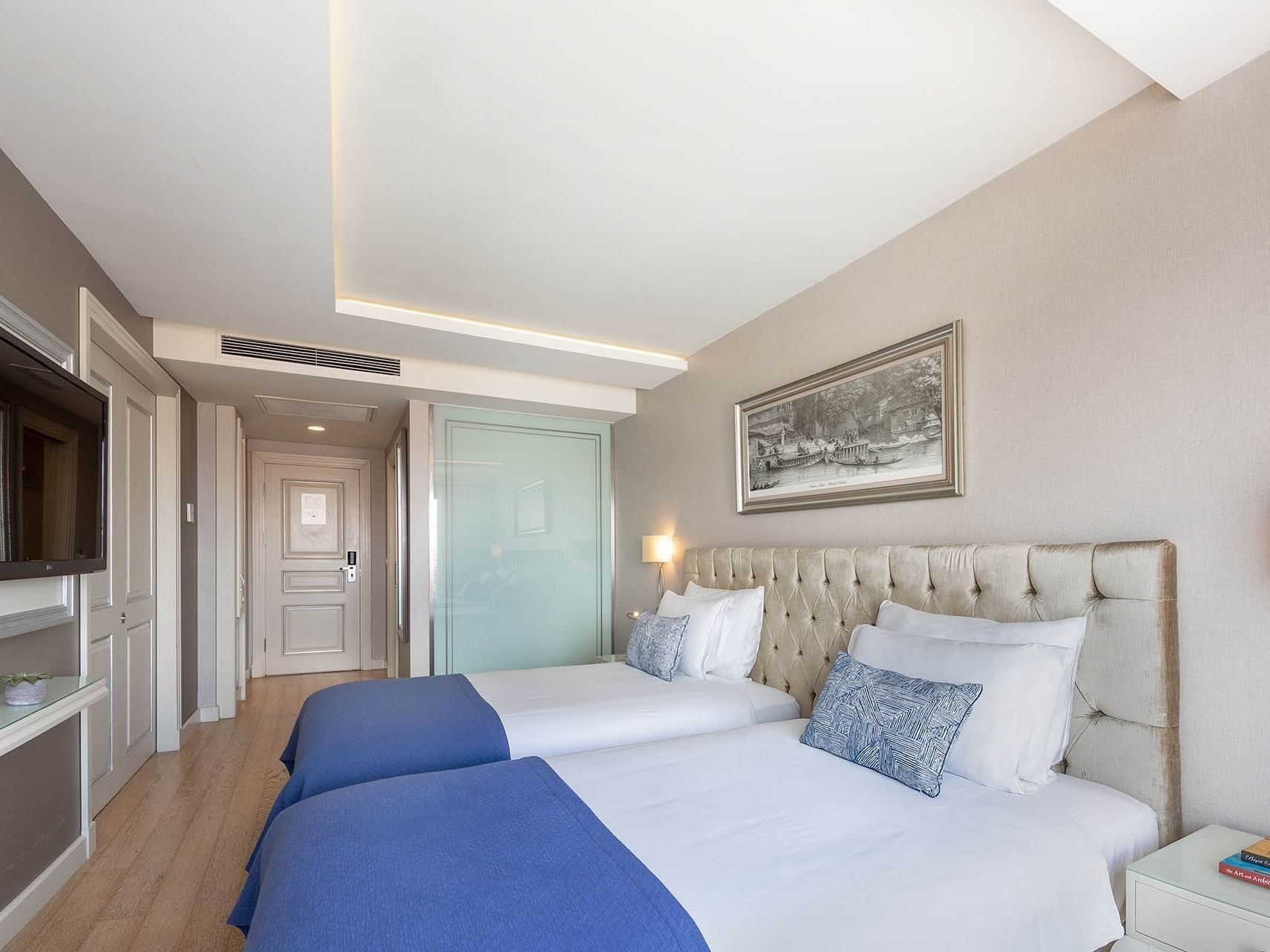 Deluxe Room with two beds at CVK Taksim Hotel Istanbul